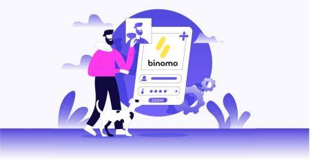 Cómo abrir una cuenta comercial en Binomo