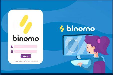 Cómo abrir una cuenta e iniciar sesión en Binomo