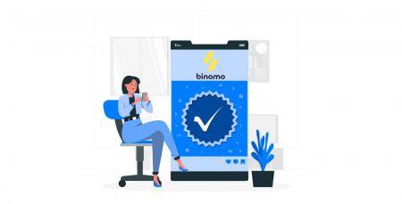 Cómo verificar la cuenta en Binomo